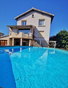 PAMIERS Maison  155 m2 avec terrain de 600 m2 piscine hors sol