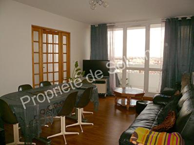 Appartement Aubervilliers 5 pieces 88 m2 avec balcon avec vue degagee