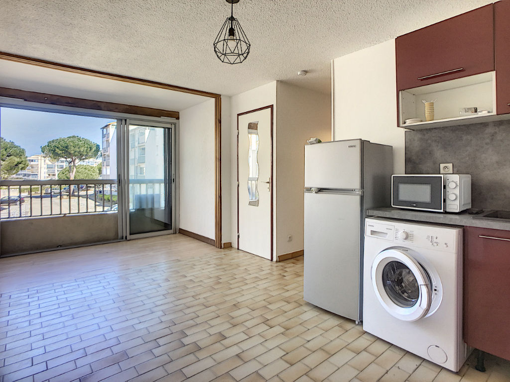 Appartement P2 Cabine, Le Grau du Roi, 2 pièces 30m², secteur Palais de la Mer