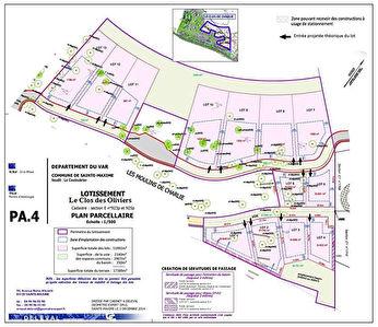 Terrain constructible Sainte Maxime