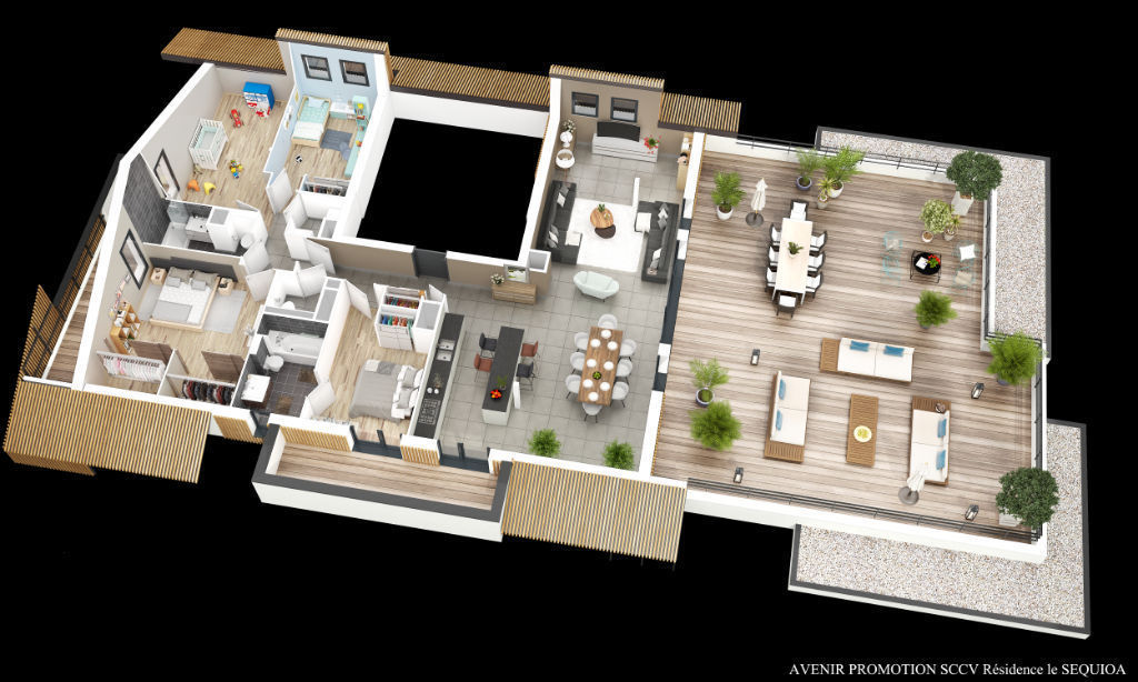 vente appartement de luxe 74560 monnetier mornex