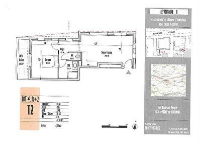 Appartement La Penne Sur Huveaune 2 pieces 49.61 m2