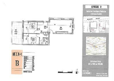 Appartement La Penne Sur Huveaune 3 pieces 62.56 m2
