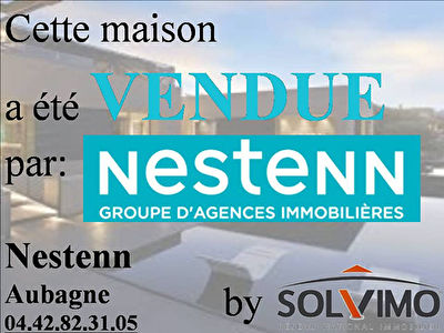 Maison Roquevaire 5 pieces 140 m2 sur 1000M2 de terrain. Proximite  Lascours