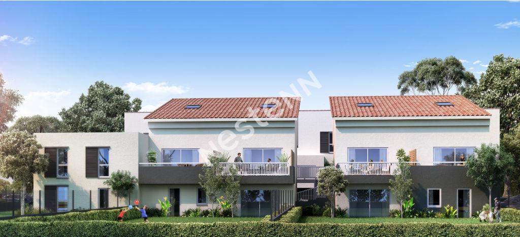 Istres appartement récent 73.52m² rez de jardin