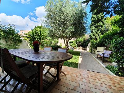 Istres, Maison T4, 3 chambres, garage et jardin
