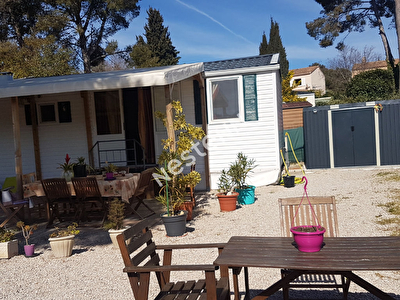 Mobil-home sur Carry Le Rouet 4 pieces 50 m2 environ au prix de 31000 euros