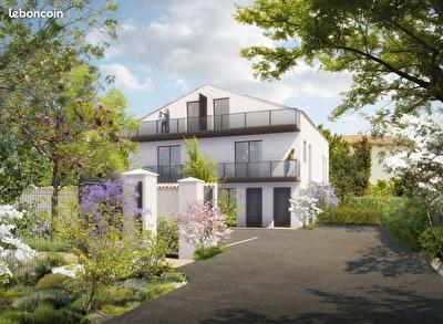Appartement T3 en duplex de 70 m2 avec terrasses