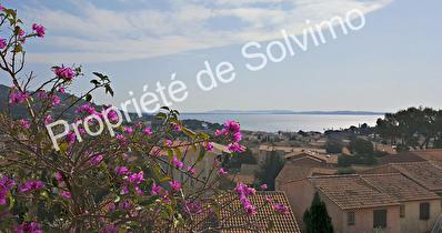 Appartement Carqueiranne 4 pieces 81.90 m2 - Vue mer panoramique