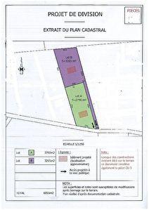 Terrain plat 2790 m2 Montauban Nord