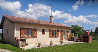 Maison traditionnelle t4 100 m2 beau jardin Montbeton