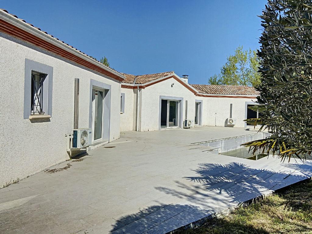 Grande maison 220 m² plain pied Montauban secteur Le Fau