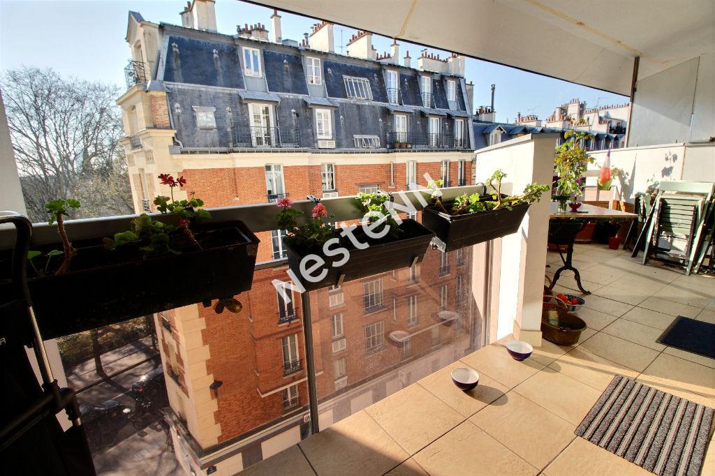 photos n°1 75020 - Gambetta - Appartement 4 pièces  89m² - Terrasse  Sud-Est - lumineux et traversant