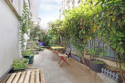 75020 Gambetta -  Appartement donnant sur un grand jardin privatif
