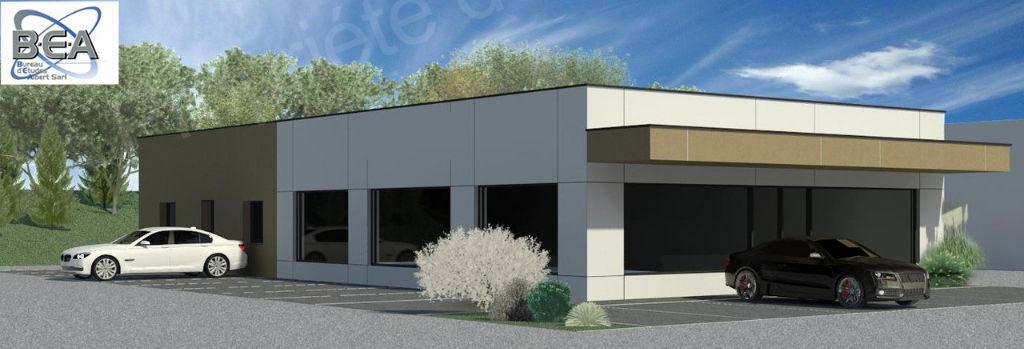 photos n°1 Terrain commercial de 424 m² idealement situé