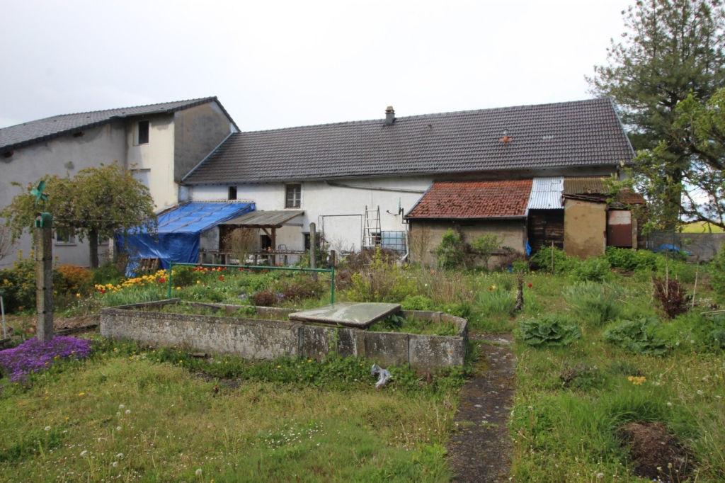 Corps de ferme , Marienthal  5 pièces -Terrain 8 ares