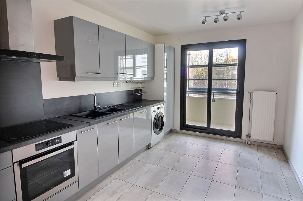 Appartement 4 pièces 115m² + 3 balcons(15m²)+ Parking