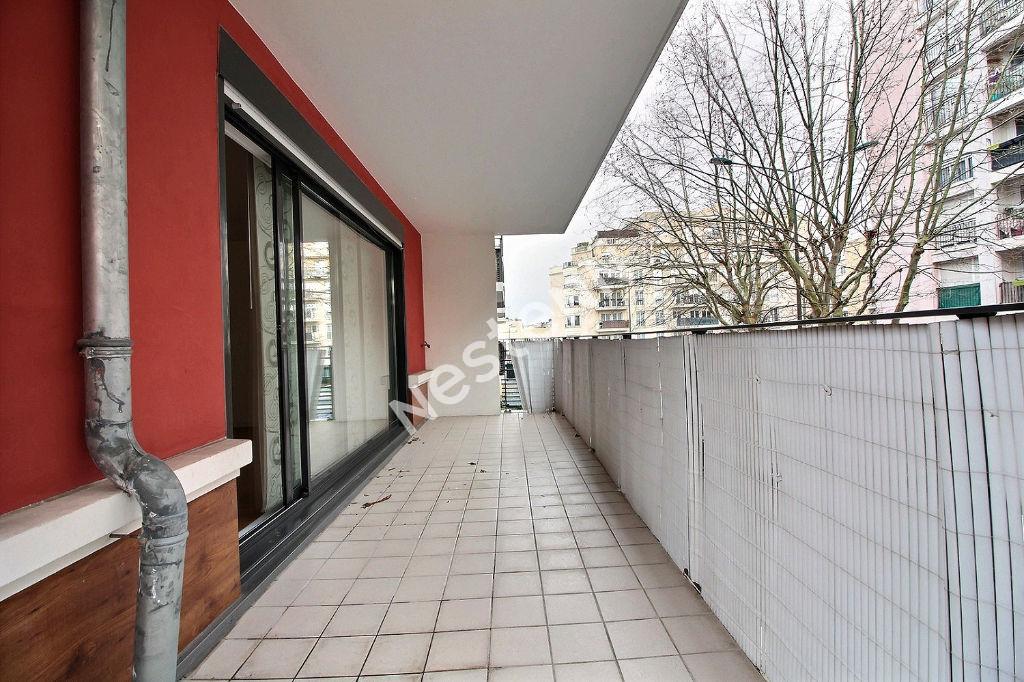 Appartement Suresnes 4 pièces 96 m²  + Balcon(13m2) + Double Box
