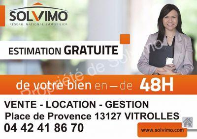 VITROLLES 13127 - APPARTEMENT T1 LOUE 300 EUROS