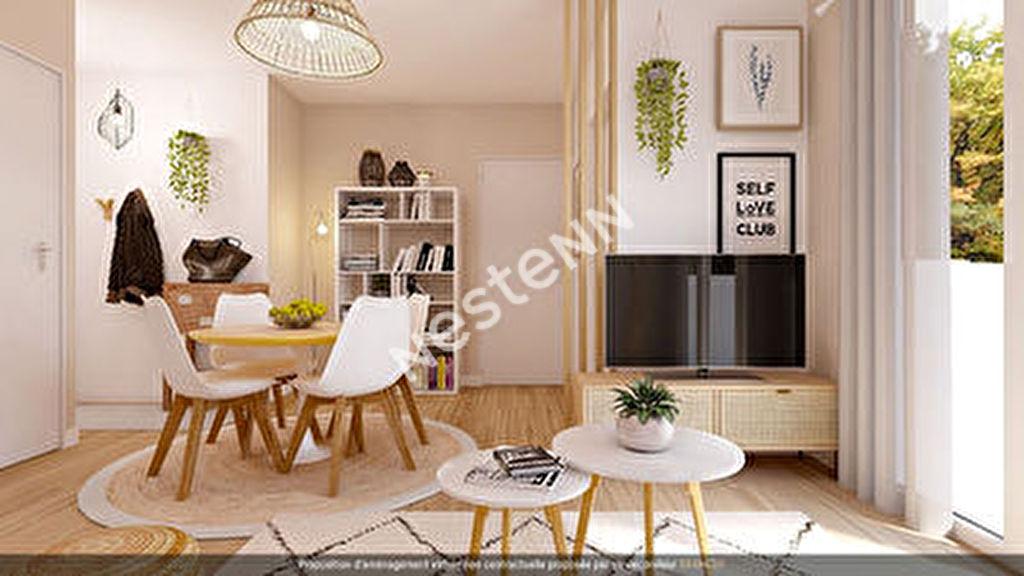 Appartement Vitrolles T2 de 42 m2