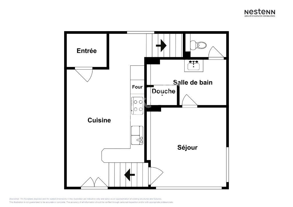 Maison Individuelle T2 avec jardin Vitrolles Nord