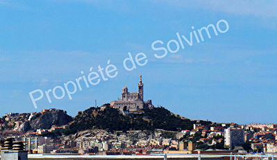 Appartement Marseille(13001)  1 piece - Terrasse Sud - 30 m2