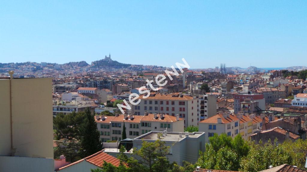 Appartement Marseille  (13004) 4 pièce(s) 86 m2 + Terrasse 13 m²