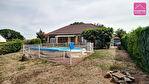 Maison de plain-pied de 123 m² sur terrain de 1360 m². 1/18