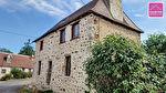 Maison en pierre d'environ 124 m² habitable sur terrain clos d'environ 600 m². 3/4