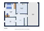 Désertines, A vendre Maison de plain-pied, 3 chambres avec jardin de 1291m² 14/15
