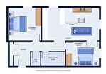 Appartement  3 pièce(s) 54.96 m2 15/16