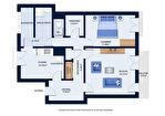 A Vendre, Montluçon, appartement F2 avec Ascenseur et Garage. 3/12