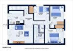 A vendre, Domérat, Maison 4 chambres, un bureau. 3/17