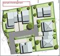 Trois bassins - A VENDRE  Terrain constructible 271 m² lot 2 4/4