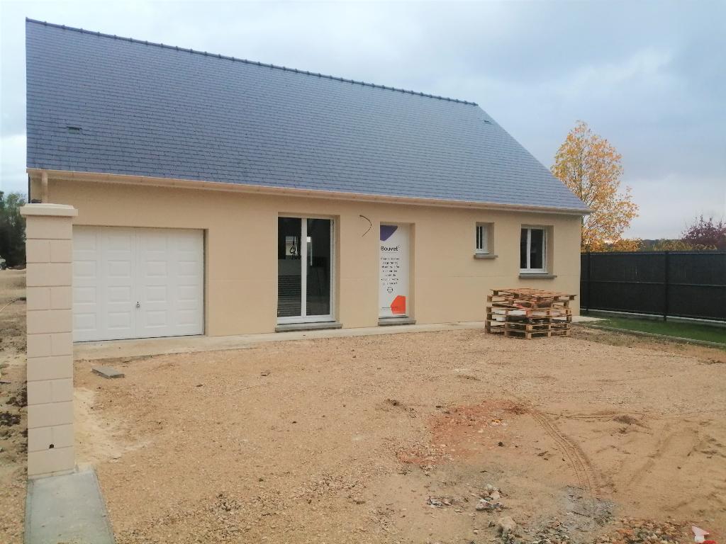 Maison en cours d'achèvement