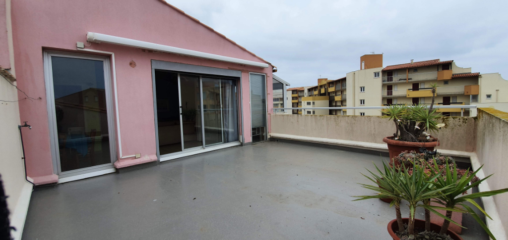 CAP D AGDE LOCATION 3 PIECES  QUARTIER PLAGE RICHELIEU