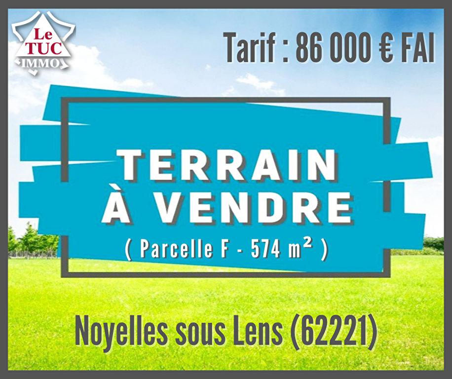 Terrain Noyelles Sous Lens 574 m2