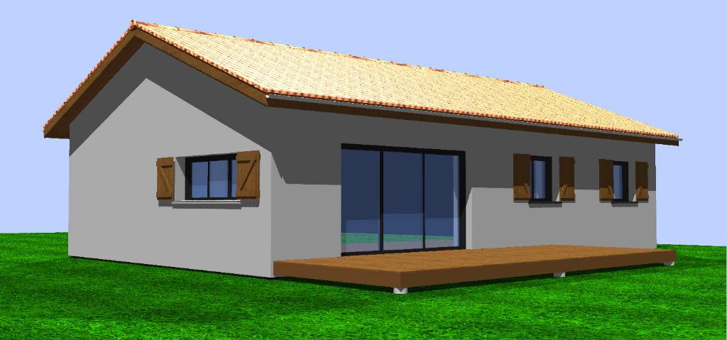 Maison Cassen 4 pièce(s) 84 m2