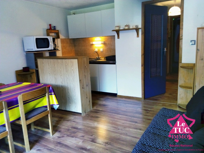Appartement Saint Lary Soulan 1 pièce(s) 28.49 m2