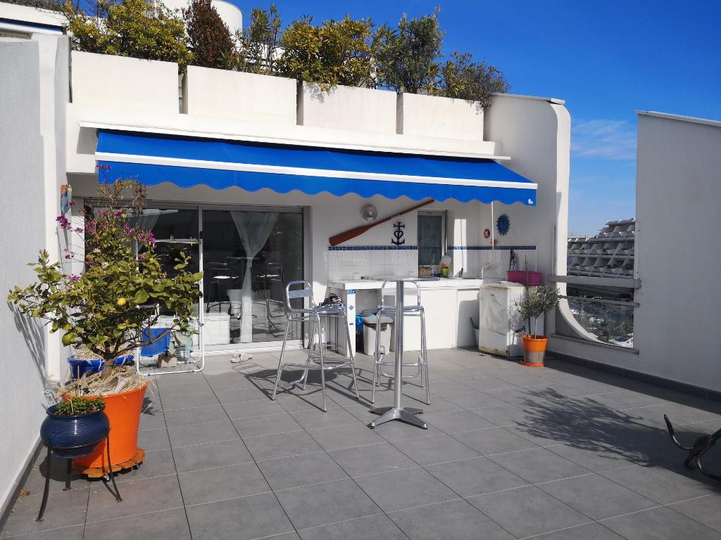 Appartement La Grande Motte 3 pièce(s) 37 m2