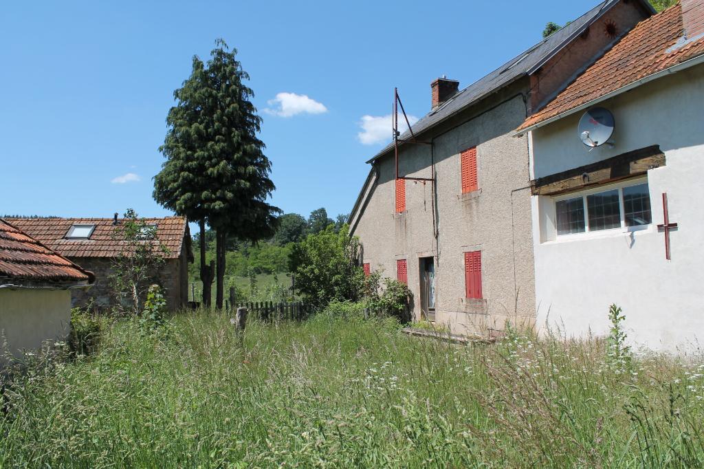 LODDES. 2 maisons mitoyenne et petit  gîte séparé sur 8000 m2 de terrain avec une vue magnifique.