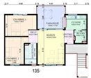 A vendre, quartier Hibiscus, au dernier étage, T3 +  varangue 3/4