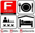 A VENDRE: RESTAURANT BRASSERIE HOTEL - COEUR COTE FLEURIE