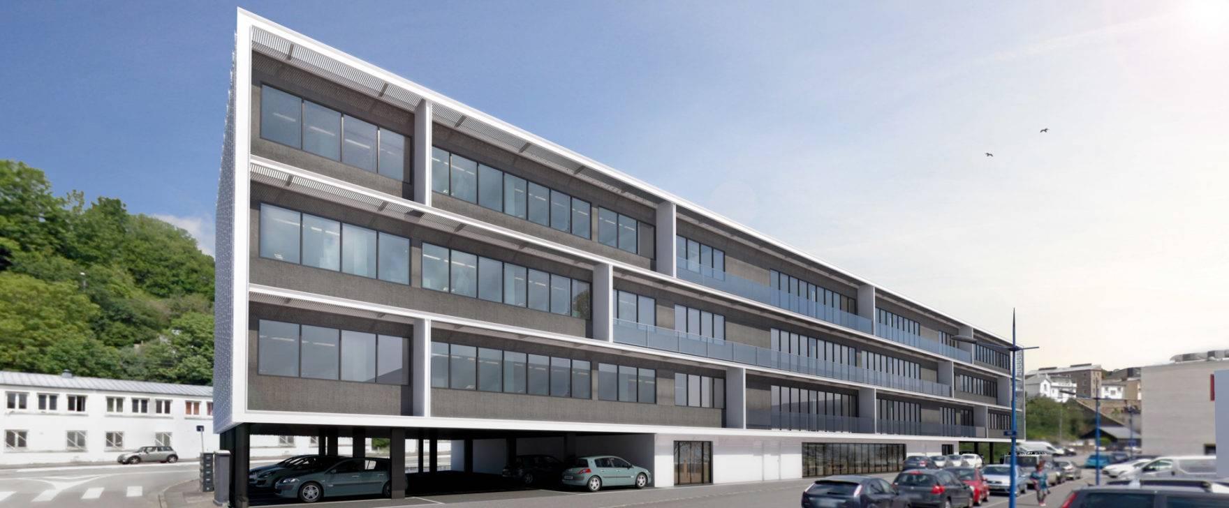 Port de commerce - Bureaux de 300m² neufs