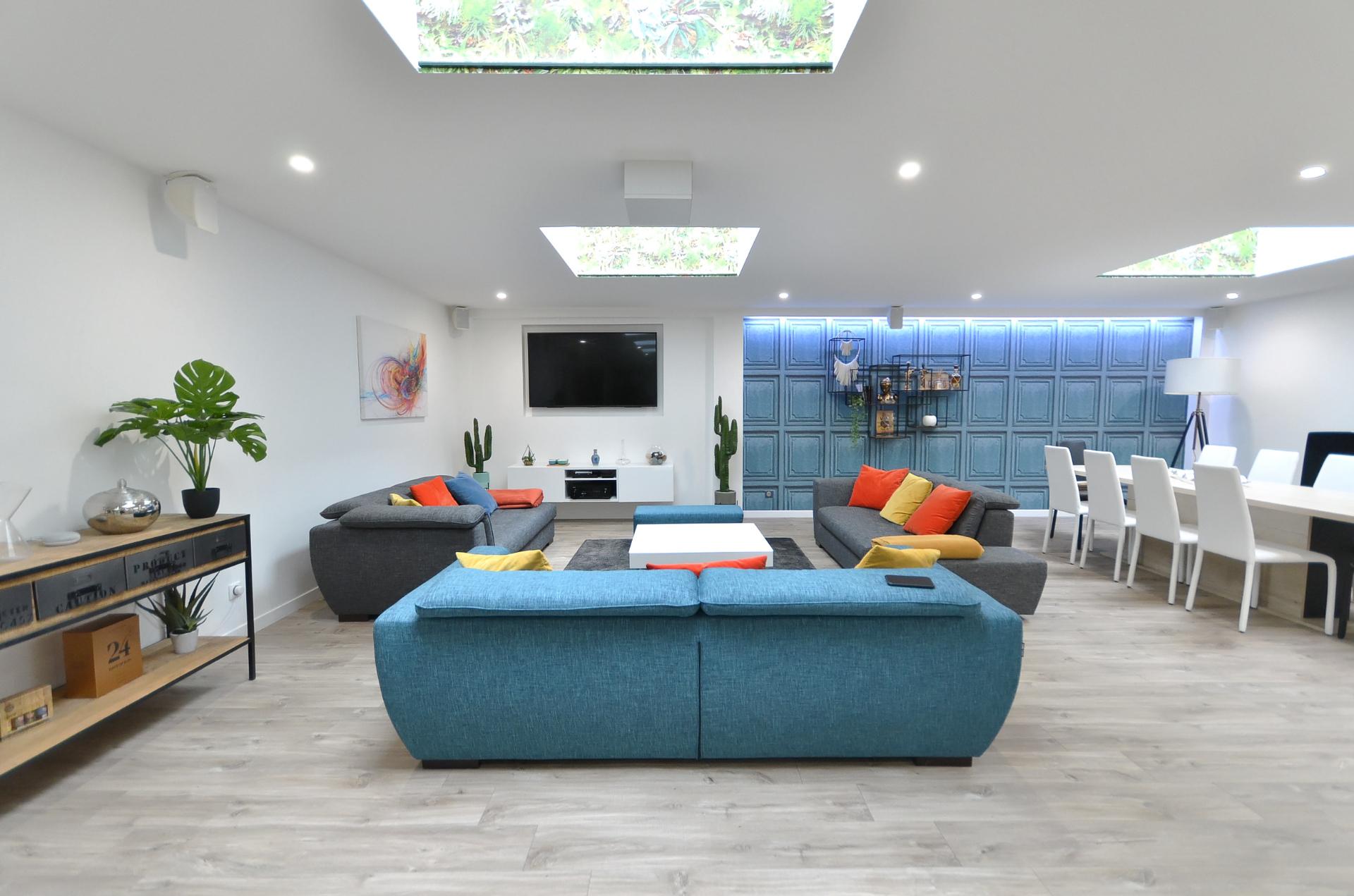 Centre Ville - T6 style loft avec garage