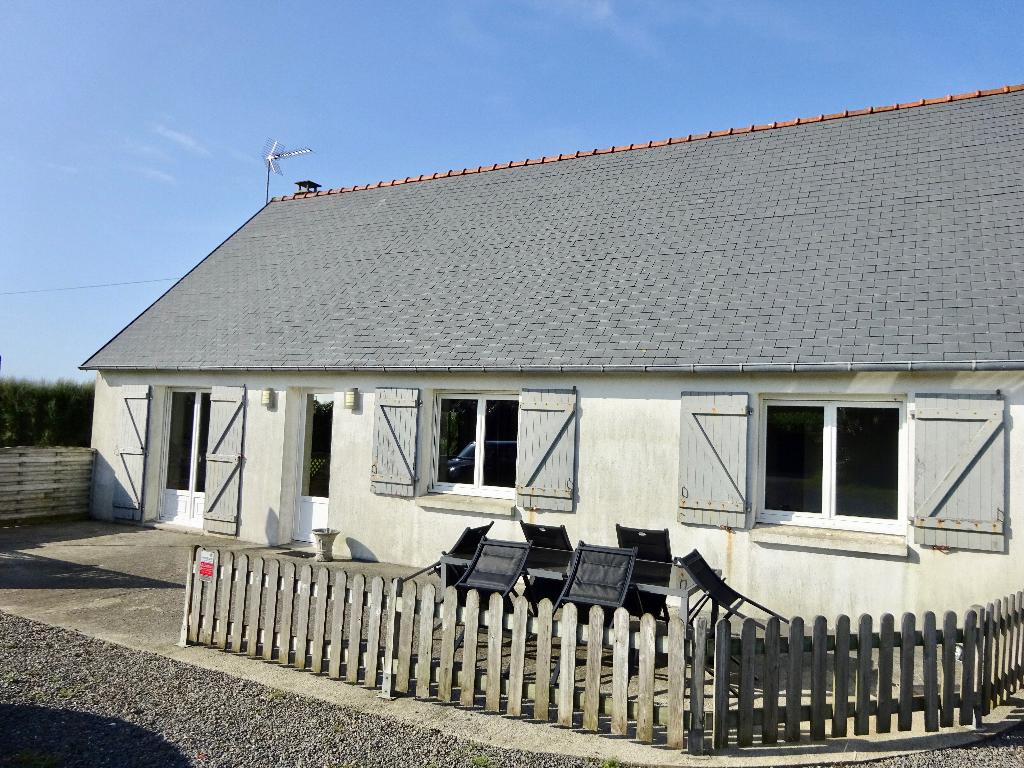 Maison plain-pied 90 m2 Ploudalmézeau