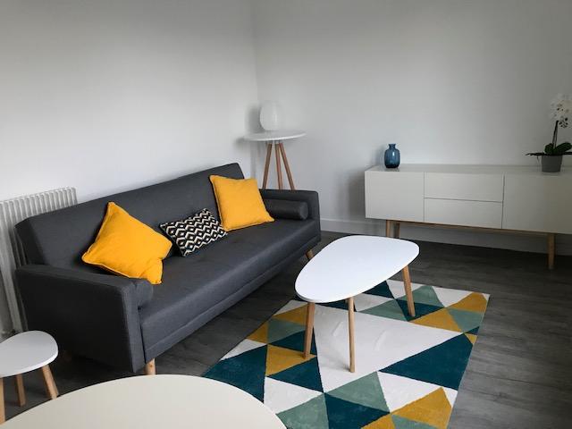 BREST RECOUVRANCE - Appartement T2 meublé de 41m² entièrement rénové