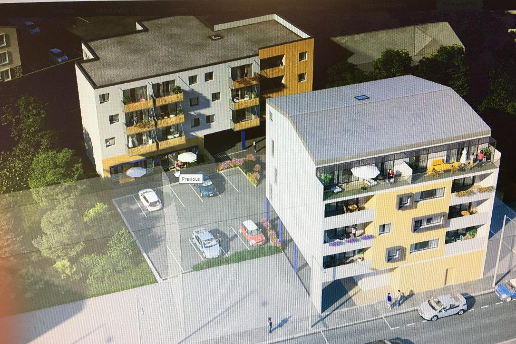 BREST SAINT MARC Appartement Brest T2 40.2 m2-JARDIN ET TERRASSE