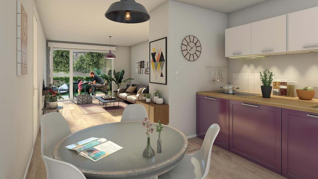 Brest Rive Gauche  Appartement type 3