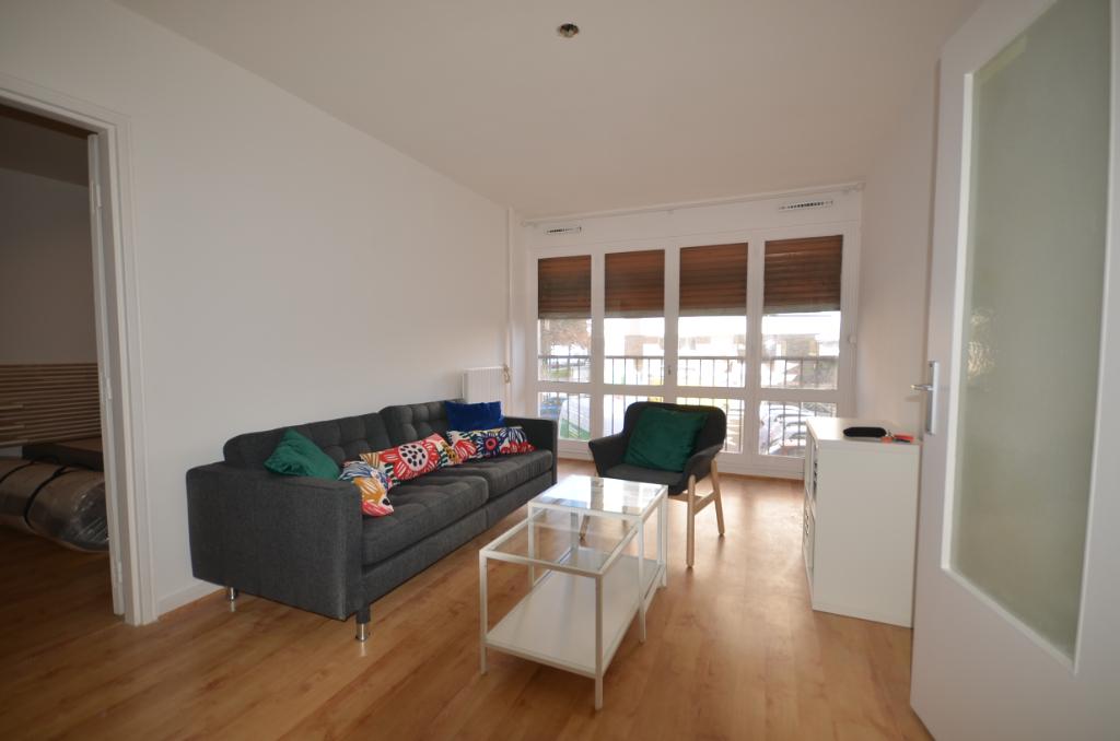 BREST BELLEVUE - Appartement T2 meublé rénové de 47m²